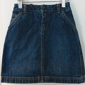 Girl's Old Navy Denim Jean Skirt Size 6